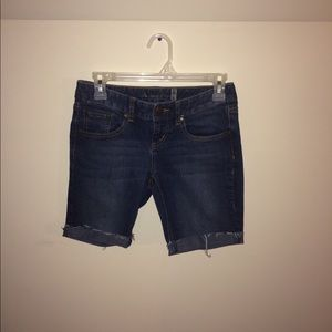 American Rag Curvy Boot Bermuda Jean Shorts